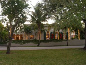 Coral Gables Real Estate Photos -- Christmas House 1