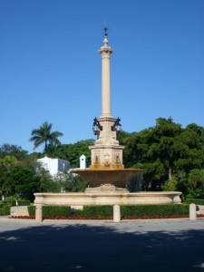 Coral Gables Real Estate Photos -- De Soto Fountain