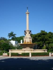 Coral Gables Real Estate Photos -- De Soto Fountain