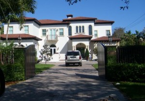 Miami and Coral Gables Real Estate Photos -- 8345 Ponce de Leon Rd.