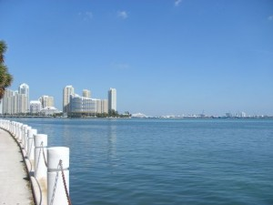 Miami Real Estate Photos -- Condos and Biscayne Bay