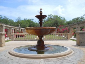 Coral Gables Real Estate Photos -- Country Club Prado Fountain 1