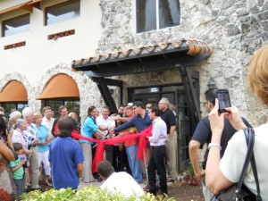 Coral Gables Real Estate Photos -- Country Club of Coral Gables -- Liberty Caffe -- Ribbon Cutting 1