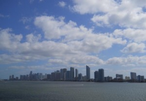 Miami Real Estate Photos -- Biscayne Bay & Downtown