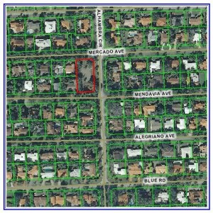 4650 Alhambra Cir., Coral Gables -- Map