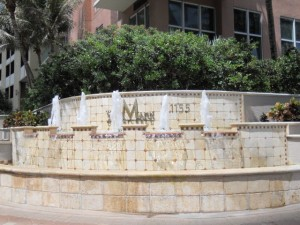 Miami Real Estate Photos -- Fountain at The Mark Condo -- 1155 Brickell Bay Drive