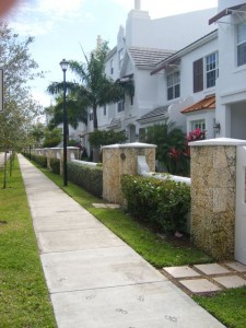 Miami Real Estate Photos -- Pine Manor Townhouses 2