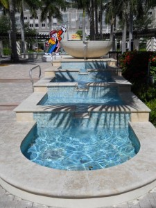 Miami Real Estate Photos -- Fountain -- Shops at Midtown Miami (2)