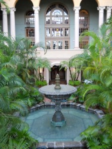 Coral Gables Real Estate Photos -- Fountain at Fontana Restaurant, Biltmore Hotel -- 2