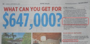 Miami Real Estate -- Herald -- What Can You Get Series