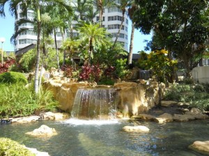 Miami Real Estate Photos -- Fountain at Four Ambassadors Condo Condominium -- Brickell Bay Dr.