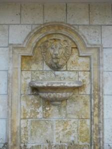 Coral Gables Real Estate Photos -- Wall Fountain -- 2728 Ponce de Leon Blvd (Los Ranchos Restaurant)