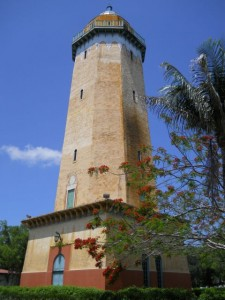 Coral Gables Real Estate Photos -- Alhambra Tower & Blooming Mimosa 3