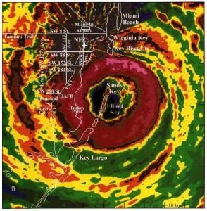 Hurricane Andrew -- NOAA Radar Image