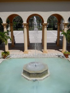 Coral Gables Real Estate Photos -- Biltmore Hotel -- Conference Center of the Americas Courtyard Fountain (3)