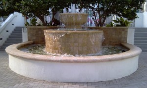 Miami Beach Real Estate Photos -- Fountain at Cosmopolitan Condo