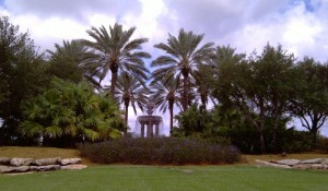 South Florida Real Estate Photos -- Fountain -- Country Club at Mirasol