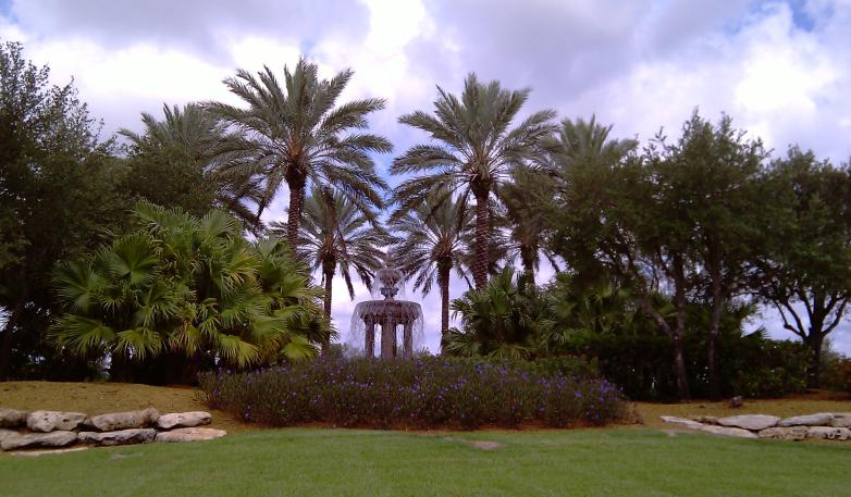 Fountain photo south florida real estate mirasol palm beach gardens the real estate for The fountains palm beach gardens