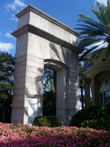 Coral Gables Real Estate Photos -- Entrance Arch at Miracle Mile and Douglas Rd 2