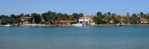 Miami Real Estate Photos -- Biscayne Bay and Waterfront Homes on Palm Island